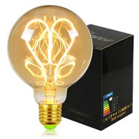 المصابيح تيانفان ريترو اديسون مصباح E27 خمر الصمام خيوط لمبة G125 G95 G80 4W باهتة 220 فولت الإضاءة المنزل