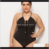 قطعة واحدة الدعاوى العلامة التجارية عالية الجودة المرأة زائد الحجم المايوه onepece عارية الذراعين monokinis ملابس السباحة بيكيني tankini hmkka va2ac