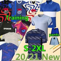 2020 2021 Chelsea soccer jerseys Havertz Kante Polo Treinamento Werner Pulisic Ziyech Abraham Mount Jorgino Lampard Futebol Shorts Homens Kit Kids Polos Baby Camisolas de futebol