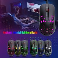 Mice Wired Gaming Mouse Ergonomic USB Optical Compatible With Windows PC Laptop Supports DIY Keybinds Rapid Fire Button