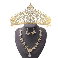 Best-selling fashionable bridal gown headpieces high-end baroque noble crown style, hand-inlaid exquisite zircon, party headband, birthday gift, boxed packaging