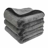 Car Sponge 40x40cm Detailing 1200GSM Wash Microfiber Towel Cleaning Drying Auto Washing Cloth Micro Fiber Rag Accessories