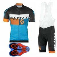 Scott equipo hombres ciclismo jersey babero pantalones cortos traje verano transpirable MTB Ropa de bicicleta Bicicleta de montaña Ropa Ciclismo S21070806