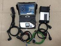 진단 도구 MB Star C5 전체 세트 2021.06 EST 소프트웨어 슈퍼 SSD 랩톱 CF19 터치 스크린 12V24V에 대 한 도구를 사용할 준비가 된 터치 스크린