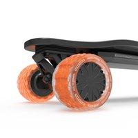 전기 스케이트 보드 롱 보드 105mm 댐핑 거품 핵심 모든 지형 특허 Cloudwheel 도넛 휠 스케이트 보드