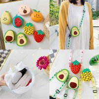 New Silicone Saddle Bag Watermelon Pear Orange Peach Fruit Bag Suitable For Children And Girls Lovely Children Bag Wholesale
