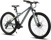 Hiland 24 26 27.5 Inch Mountain Bike Shimano Drivetrain 21 Speed Aluminum Frame with Suspension Fork MTB Bicycle