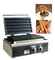 Commercial 110V 220V 5 pcs de gaufres cuites à cuisson cuite cuite à cuisson cuite de cuisson de boulangerie
