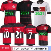2021 2022 Flamengo Futbol Formaları Erkek Kadın Gömlek Diego E.Ribeiro Gabriel B. Gabi Futbol Jersey Pedro Matheuzinho de Arrascaeta Gerson B.Henrique Camisa Mengo