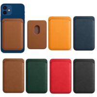 Magnetic Style Wallet with Leather Case on The Back with Card Slot for IPhone 12 12 Pro 12 Pro Max