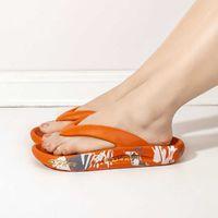 Slippers men's 2021 summer new fashion outdoor Korean Trend stepping on excrement coconut slippers antiskid flip flop02U7
