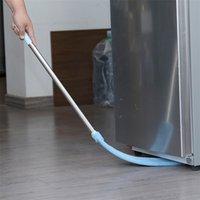 3in1 Corner Cleaning Tool Nook Duster Long Handle Dust Cleaner Floor Brush Easy To Clean Sweeper Car Wash Mop Broom Microfiber 210908