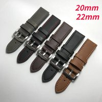 Watch Bands Leather Strap For Samsung Galaxy Watch4 Classic Watch3 Band Active 2 Gear S3 22 20mm Bracelet Stitch Design Replacement