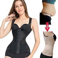Waist trainer womans shaper corrective underwear slimming sheath shaper corset modeling strap body colombian girdles shapewear 201224