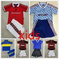 86 Kit Kit Kit Retro Jersey Jersey Boca Juniors Argentina Giggs Ronaldo # 7 Beckham Classic Vintage Football Camisas