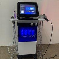 Usine Professional 8 In1 Visage Spa Hydra Aqua Peel Sacial Hydratermabrasion Machine Machine Soins de la peau Equipement de beauté
