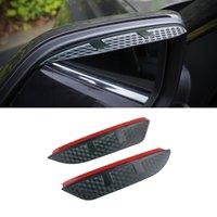 For BMW X6 2008-2021 E71 F16 G06 X7 G07 Car Stickers Side Rearview Mirror Rain Eyebrow Visor ABS Carbon Fiber Sun Shade Guard Accessories