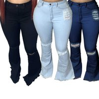 Womens jeans sexy flare pants bodycon denim trousers leggings relaxed regular full length active comfortable women clothing S-XXL