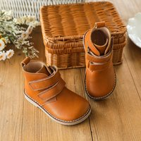 Boots Guangzhou Sho Men''s Single Boots in Autumn and Winter of 2021 Children's Leisure Fashion Real Leather Short