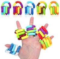 Party Tangles Fidget Juguetes Relax Therapy Relieve de estrés Sensación de juguetes Descompresión Cerebro educativo Imagina herramientas para enfocar