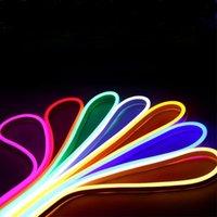 Streifen 12V LED Streifen Licht 1m 2m 3m 4m 5m Dimmable Hintergrundbeleuchtung Ribbon Neon 12 Volt Netzteil für Küche Home Beleuchtung