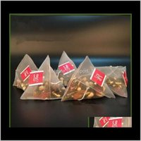 أدوات القهوة 500pcslot أكياس تصفية النايلون مع التسمية فارغة teaBags teaBags tea infuser مصفاة واضح حقيبة التخزين 587 سنتيمتر FFA1445 RFW4 X7HSW
