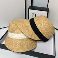 HT060 الصيف المرأة عارضة سترو قبعة الشمس الظل كاب سيدة الإناث في الهواء الطلق عطلة الشاطئ قناع كبير بريم gorros