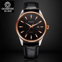 Real Ochstin Watches Men Women Casual Sports Male Leather Watch Lady Men's Quartz Wrist Relogio Masculino Wristwatches