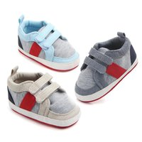 First Walkers Casual Canvas Baby Shoes Classic Born Boys&Girls Kids Toddlers Sports Sneakers 0-18 Months