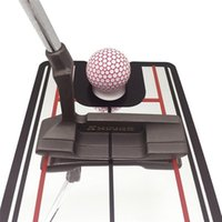 Golf Training Aids Portable Practice Putting Mirror Alignment Aid Swing Trainer Straight Net Mat Eye Line