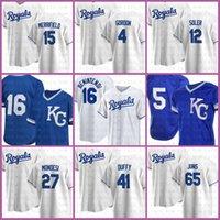 16 Andrew Benintendi Kansas Custom City Royal 16 Bo Джексон Бейсбол Джерси 5 Джордж Бретт 13 Сальвадор Перес 8 Майк 4 Алекс Гордон Мустакас дешево