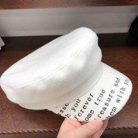 مصمم جديد البحرية تويد قبعة الأزياء تصميم شبكة إلكتروني كاب صافي الأحمر شقة القبعات القبعات