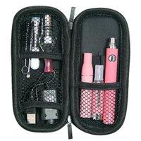 MOQ 5Pcs 4 in 1 Vaporizer Starter Kits Wax Glass Globe Atomizer EVOD MT3 Tank E liquid Ce3 Cartridge Dry Herb Vape Pens Kit