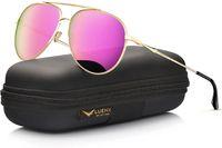 Luenx Pilot Güneş Gözlüğü Kadın Polarizer Göz Kutusu ile - UV 400 Koruma 60mm