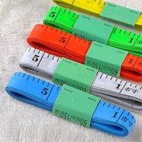 유용한 신체 측정 통치자 재봉틀 테이프 측정 부드러운 1.5m 재봉 통치자 미터 재봉틀 측정 테이프 무작위 538 R2