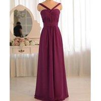 Gorgeous floor -length Chiffon Party Dress Criss-Cross Straps Evening Party Prom Gown Bridesmaid long Dress Evening Beach Dress