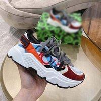 En Kaliteli Erkek Kadın Ayakkabı Sneakers Deri Sneaker Nakış Klasik Eğitmenler Lover Eğitmen Kutusu Home011 014