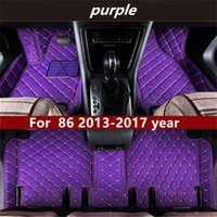 Toyota 86 2013-2017YEAR 비 슬립 비 독성 바닥 매트 자동차 바닥 매트