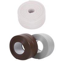 Wallpapers DIY Caulk Strip Self Adhesive Repair Mildew Tape Wall Edge Corner Bathtub Kitchen Sealing For Washroom Ceramic Sticker