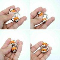 الضغط سلسلة تململ اليد سبينر فنجر ألعاب معدنية تنفيس لعبة دراجة المفاتيح حلقة رئيسية ممل اختبار الهدايا