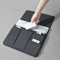 حقيبة كمبيوتر محمول حالة للهواء برو 13 14 15 16 بوصة كم الحقيبة ماك دفتر ايباد تابلت غطاء بطانة 210825