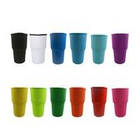 재사용 가능한 네오프렌 아이스 커피 컵 슬리브 핸들 승화 공백 30oz-32oz 컵만을위한 절연 텀블러 커버 홀더 아이디어 (나를 만지지 마십시오) HH21-339