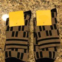 Мужчины полосатые буквы носки повседневные дышащие хлопчатобумажный носок с тегом мода чулочные изделия высочайшее качество оптом цена