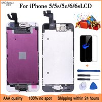 Complete LCD Or Full Assembly Display or Screen for iPhone 5 5S 5C or for iphone 6 6s with and Front Camera and Ear Speaker