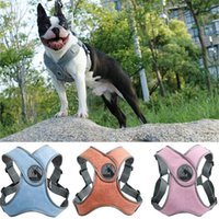 Dog Collars & Leashes Pet Adjustable Soft Breathable Harness Vest For Small Medium Dogs Puppy CollarReflective Cat Vests