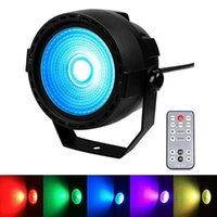 Effects 30W COB RGB Stage Effectlight For Dj Disco Party Work With Dmx Moving Head Beam Spot Wash Strobe Lighting