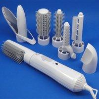 Hair dryer Multifunctional straight curling hair dryer high-power dual-purpose household styling set 2090