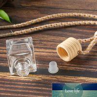 Car perfume bottle car pendant perfume ornament air freshener for essential oils diffuser fragrance empty glass bottle lz0531