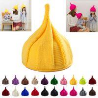 Beanies Baby Beanie Hat Kids Girl Cap Warm Winter Child For Women Knit Children Hats Boys Autumn Born Pography Props