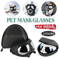 النظارات الشمسية الكلب uv حماية تعديل نظارات windproof pet ارتداء الأزياء السباحة التزلج النظارات المساعد الملابس